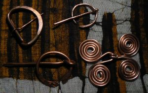 Day 4: Copper Alloy Wire Work Fastenings by NightPhoenixArt