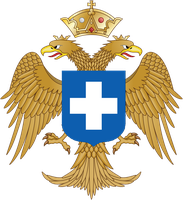 Coat of Arms of the Byzantine Kingdom of Greece by ramones1986