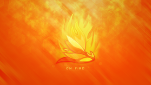 On fire - Wallpaper by Mithandir730
