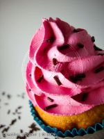 Sprinkles in Pink frosting 02 by CreativeAbubot