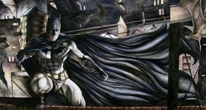 Batman Begins the Night by Meador