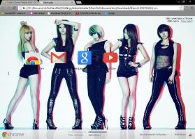 4MINUTE I my me mine Chrmore theme. by Sellscarol