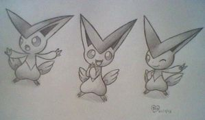 Victini by BluuKiss
