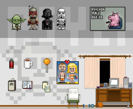 some of my pixels by psychon