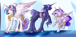 [NG] Meet the ShiningDence Kids by CrescentMyst