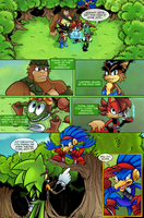 Scourge Eternal Blackout: Issue 2 pg 3 by 5courgesbestbuddy