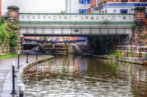 Canal bridge 10 HDR by teslaextreme