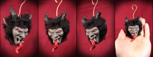 mini krampus ornament by kezeff