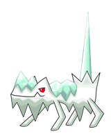 Icicle Pokemon 2 by Smiley-Fakemon
