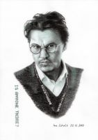 Johnny Depp - Dr. Will Custer by shaman-art