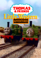Little Western Adventures Front DVD Cover by MarzipanHomestar66