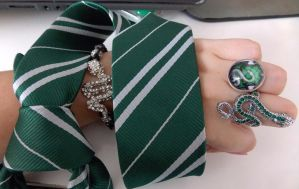 Queen of Slytherin house by LeaWer