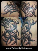 3D Tribal by Melissa-Capo
