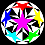 sacred double pentagon by 10binary