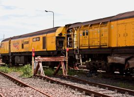 Loram Rail Grinder Train I by DundeePhotographics