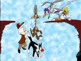 Looney Tunes: The Cliff by MatthewHunter