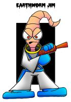 Lil' Earthworm Jim by 5chmee