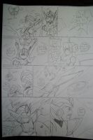 Megaman X6 manga chapter 3 page 4 by BuffaloBorgine