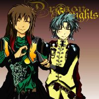 Dragon Knights - hand heart by HeartbreakHavoc