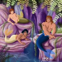 MERMEN PRINCES 4 by FERNL