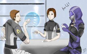 The Cheat - Mass Effect Poker by CePheala