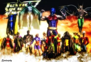Justice Society of America by PGandara