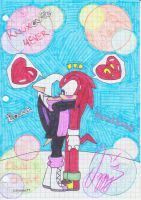 Knuxouge_winter_surprise_kiss by izzysonic77