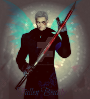 -Vergil the Fallen Beauty- by XxNemmieSpardaxX
