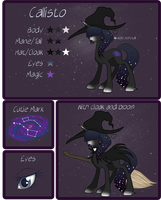 Callisto Reference Sheet by Ruaniamh