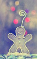 Gingerbread man by AngiWallace