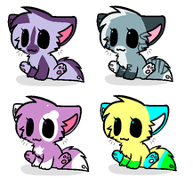 Kitten adopts (MOAR ADOPTS PLZ) =3 by Honey-PawStep