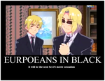 EUROPEANS IN BLACK by L337M4573RM1R4ND4
