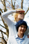 Future in sight - Kise Ryota and Aomine Daiki by SirFancypantsIV