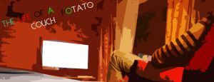 The life of a couch potato by P3doBear