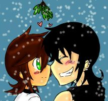 Christmas Kissers by Whitestar-Legacy