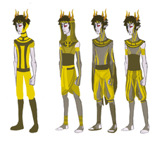 psiionic outfit redesigns by Amandazon
