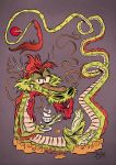 Japanese Dragon by Themrock