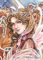 Autumn Frost ACEO by MeredithDillman