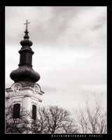 Religion - Temple tower by vikingexposure