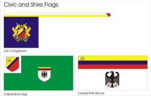 Civic Flags by Ienkoron