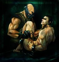 TDKR. Bane/Blake. MINE by kingbirdkathy