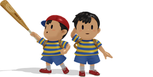 [MMD] Ness Wii U Style by ShadowlesWOLF