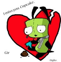 Gir Cupcake by Digiko