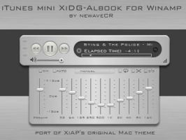iTunes Mini XiDG-Albook by NewaveCR