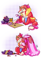 RD - Princess Tea Party by TamarinFrog
