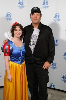 Snow White and Adam Baldwin by meowmix22