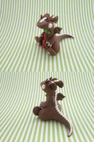 Gingerbread Dragon by KriannaCrafts