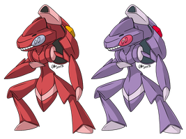 NUMBER 649. GENESECT. by BritishStarr
