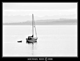 Sailboat departing by Luv2suspendyou
