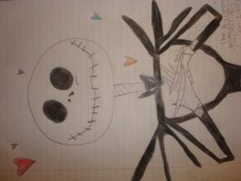 The Nightmare Before Christmas Jack Skellington by ReitaForever30